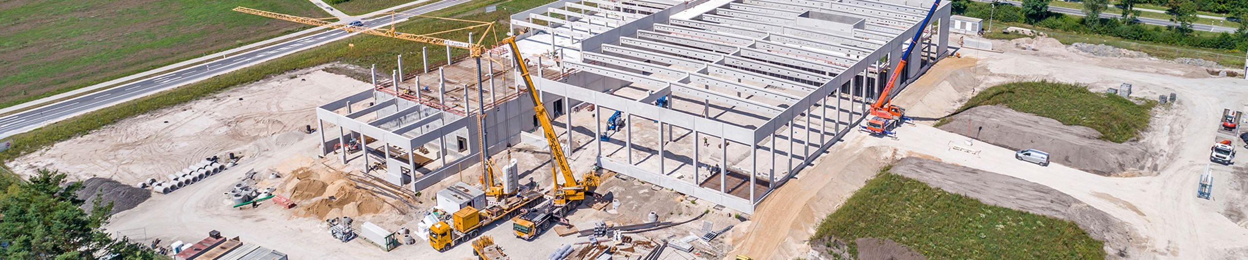 Betonfertigteile für Hoch- und Ingenieurbau