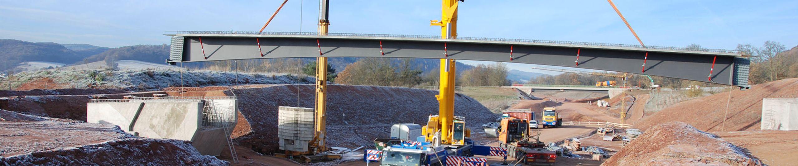Brückenfertigteile und Brückenträger aus Beton