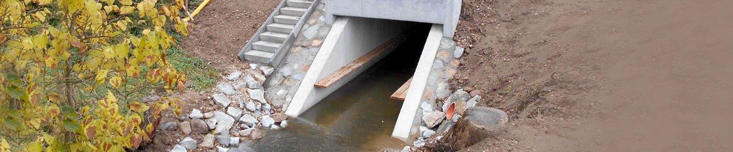 Brückenbauwerke und Durchlässe aus Beton