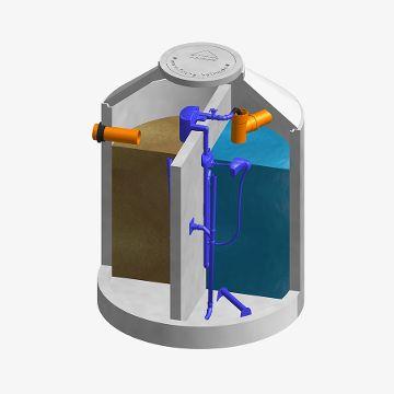 FUCHS AquaClear 4-8 EW 2-Kammer KKA