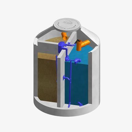 FUCHS AquaClear 8-16 EW 3-Kammer KKA