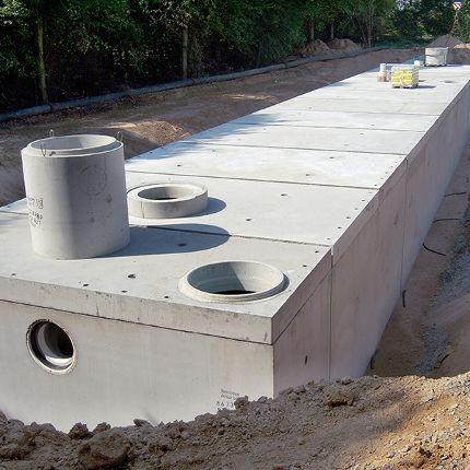 Groß- und Industrieanlagen  <br />Großbehälter in Modulbauweise
