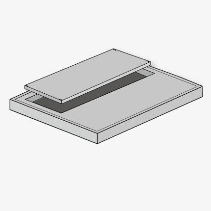 FUCHS Deckenplatte  70x140