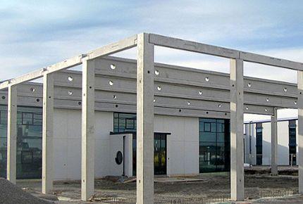 Constructional precast parts