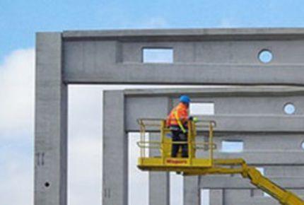Pre-stressed concrete