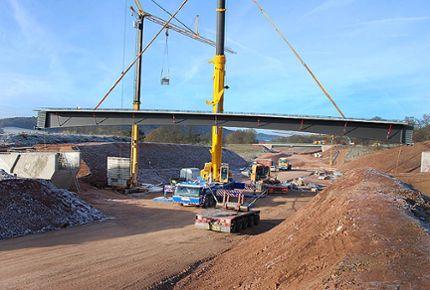 Precast parts for bridges