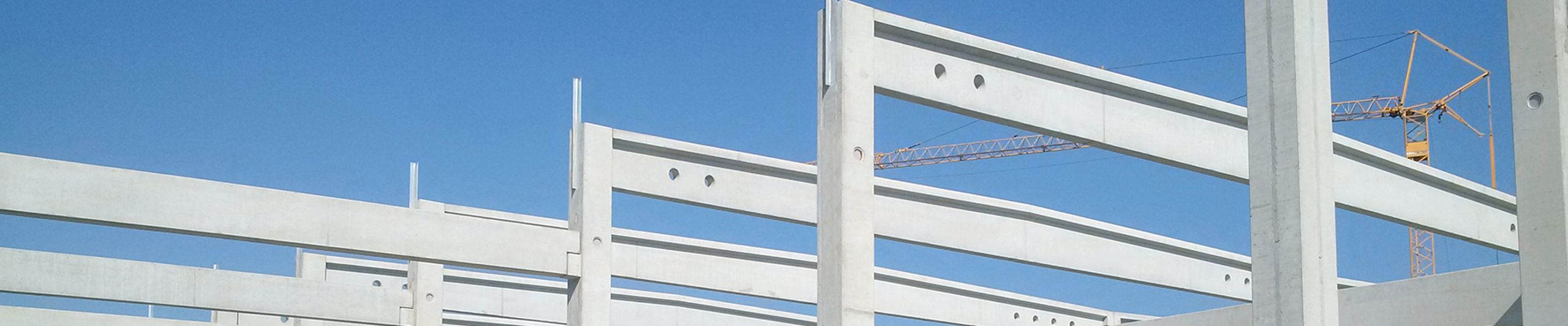 Constructive precast concrete parts such as solid walls, ceilings
